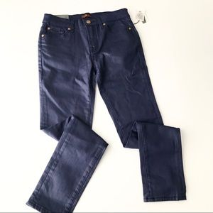 7FAM New Youth Coated Skinny Jeans v2